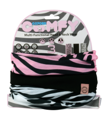Oxford Comfy Zebra 3-Pack
