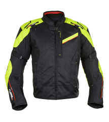Estoril 2.0 MS Short Jkt Black/Fluo
