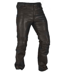 Route 73 Leather Pants Black