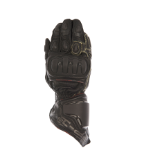 RP-1 Aqua Leather Race Glove Black