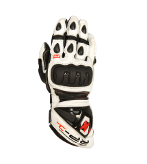 RP-1 Leather  Race Glove White/Black