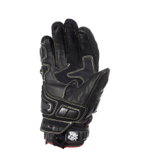 RP-3 Aqua Leather Short Glove Black