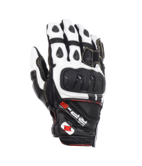 RP-3 Leather Short Glove Black/White