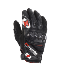 RP-4 Leather/Mesh Short Glove Black
