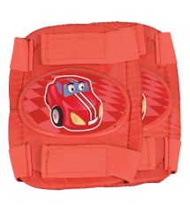 Little Racer Protective Pads Red