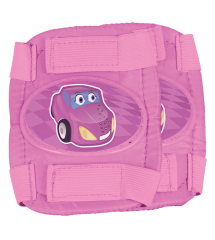 Little Racer Protective Pads Pink