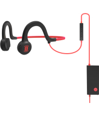 AfterShokz Sportz Titanium Mic - Red