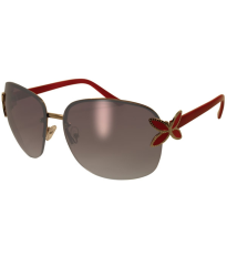Solbrille Butterfly CF2 Rød