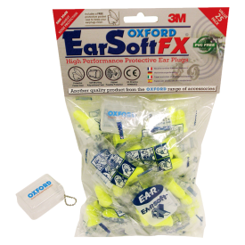 EARSOFT FX earplugs-50 prs SNR39