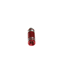 Valve Caps Bullets Pair - Red
