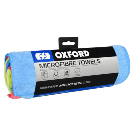 Microfibre Towels Pack 6 stk. ass. farve