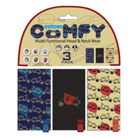 Oxford Comfy Scooter 3-Pack