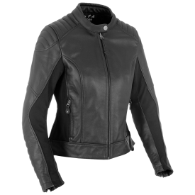 Women's Beckley Leather Jacket Black
