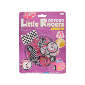 Little Racer Spokies Pink