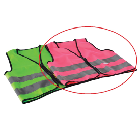 Oxford Bright Vest Junior Pink