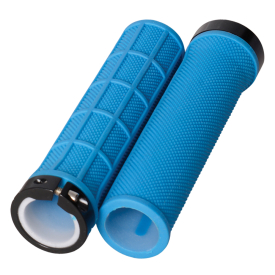 Lock On Slim Grips Blue