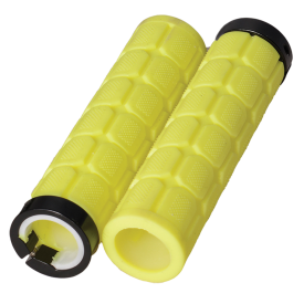 Lock On Fat Grips Fluro Yellow