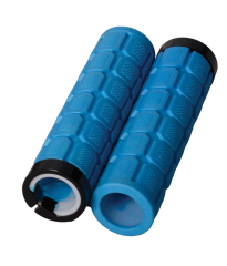 Lock On Fat Grips Blue
