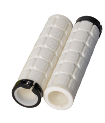 Lock On Fat Grips White