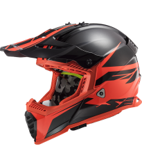 MX437 FAST EVO ROAR MATT BLACK RED