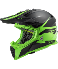 MX437 FAST EVO ROAR BLACK GREEN