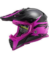 MX437 FAST EVO ROAR BLACK PURPLE
