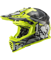 MX437 FAST EVO CRUSHER BL HV YELLOW