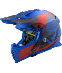 MX437 FAST EVO ALPHA MATT BLUE