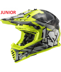 MX437 FAST EVO MINI CRUSH BL YELLOW