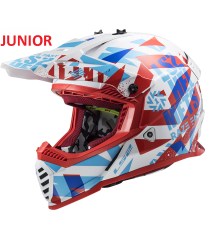 MX437 FAST EVO MINI FUNKY RED WHITE