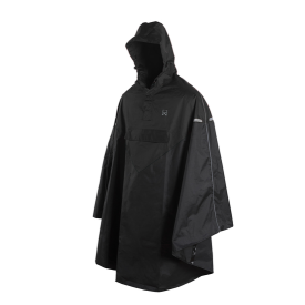 Willex Poncho Sort L/XL