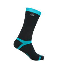 Coolvent Sock Aqua Blue Stripe