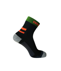 Running Sock Black/Blaze Orange